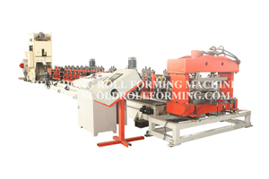 STAINLESS STEEL ANTI SLIDE PLATE ROLL FORMING MACHINE