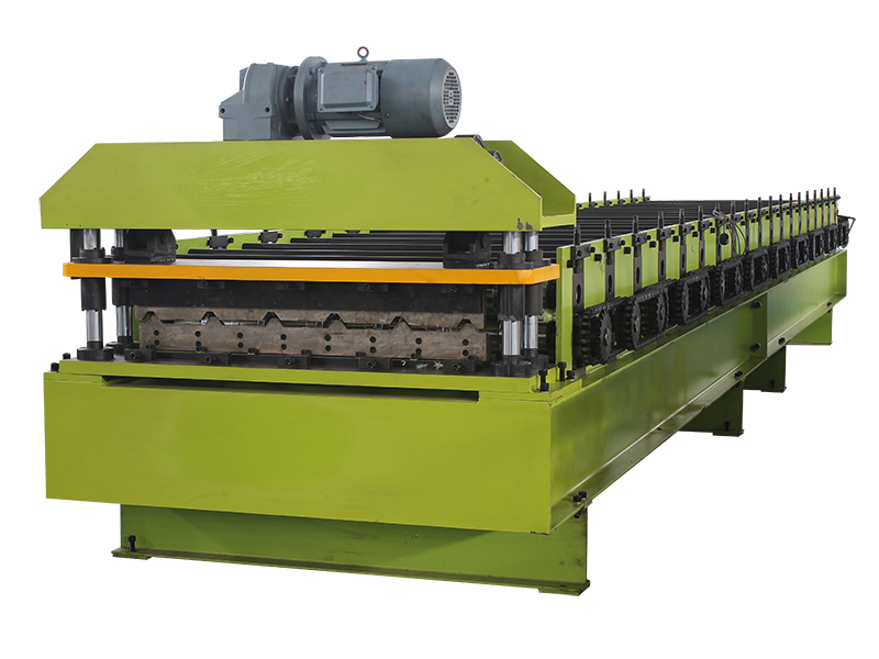 ROLL FORMING MACHINE FOR ROOF PANEL