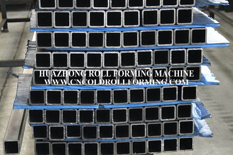 HIGH FREQUENCY WELDING ROLL FORMING MACHINE