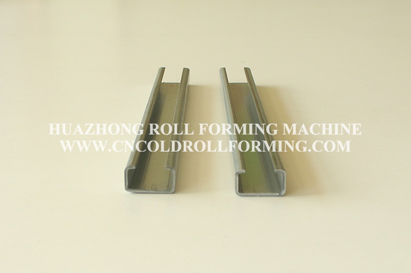 CABLE TRAY SUPPORT ROLL FORMING MACHINE