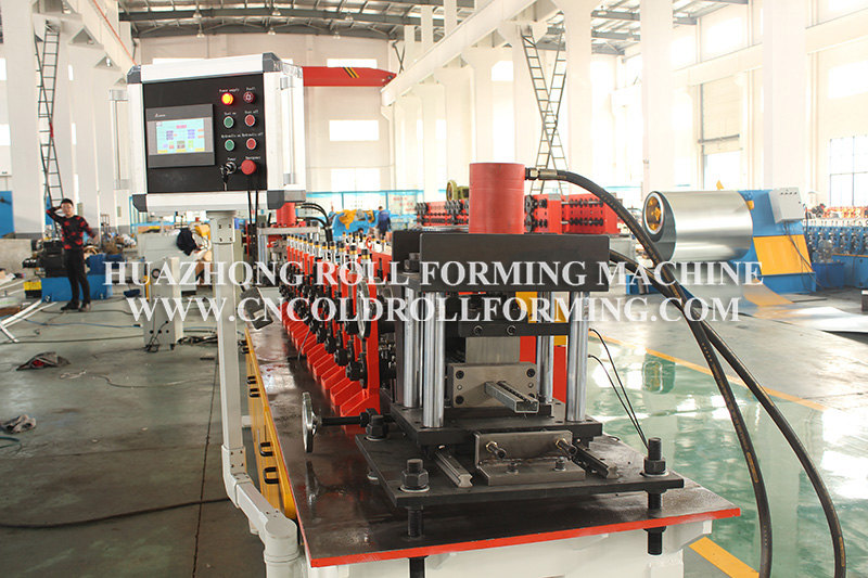 C PROFILE POST ROLL FORMING MACHINE